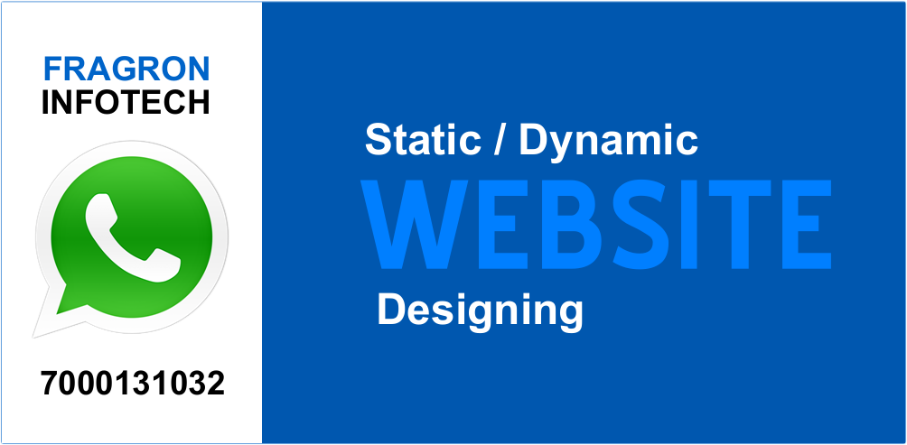 Website Designing Services - Fragron Infotech