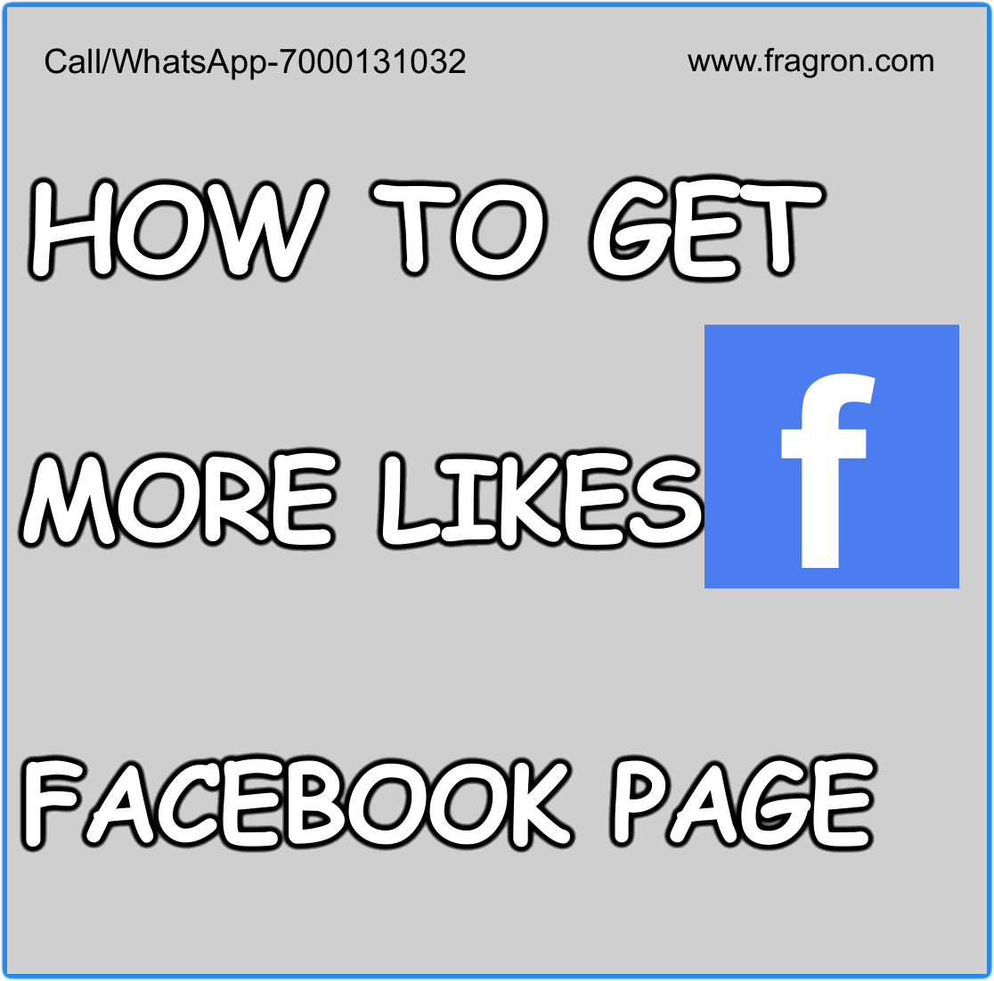 How to Get More Likes on Facebook Page.