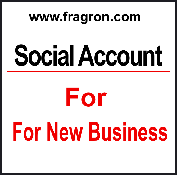 Important Social Accounts for any online business startup